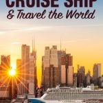 How to Work On A Cruise Ship & Travel the World