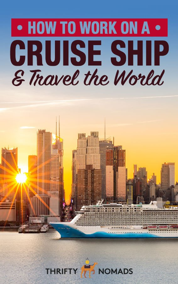 Want to work on a cruise ship anywhere in the world? Here are tips from an expert to finding cruise work & getting paid to travel. #workabroad #cruiseship #cruiseshipwork #workoverseas
