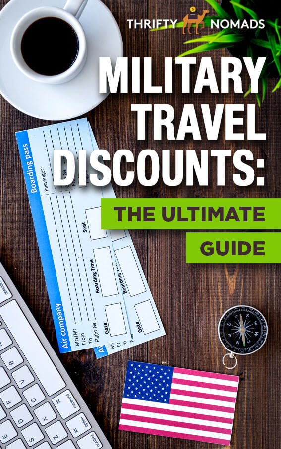 The ULTIMATE list to military travel discounts in the USA. #militarydiscounts #militarytraveldiscounts #militarybenefits #militaryUSA