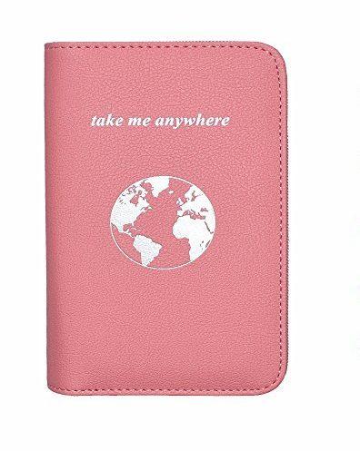 Phone charging passport holder
