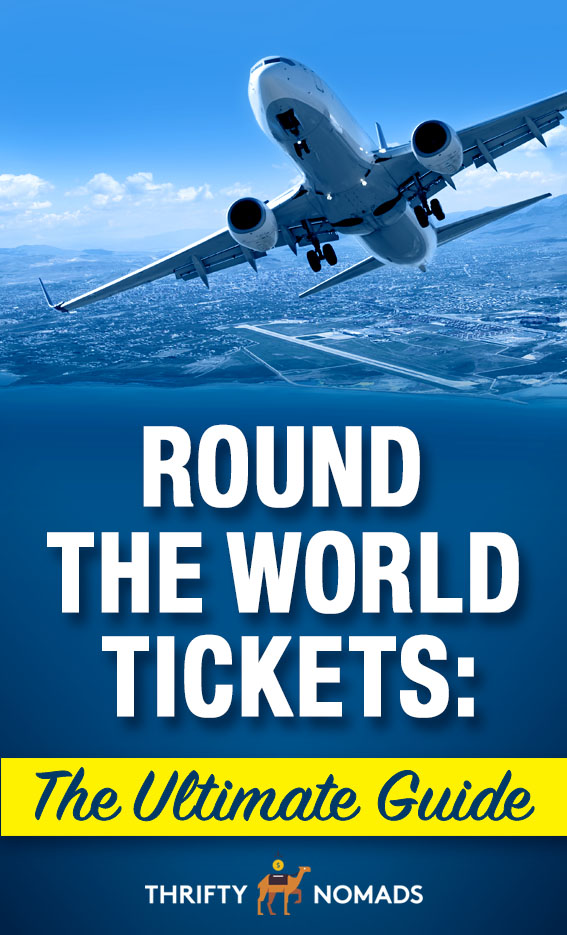 Are round the world tickets worth it? Here\'s our analysis, plus how to book them yourself for CHEAP. #roundtheworldtickets #roundtheworldflights #flightpasses #airlinepasses