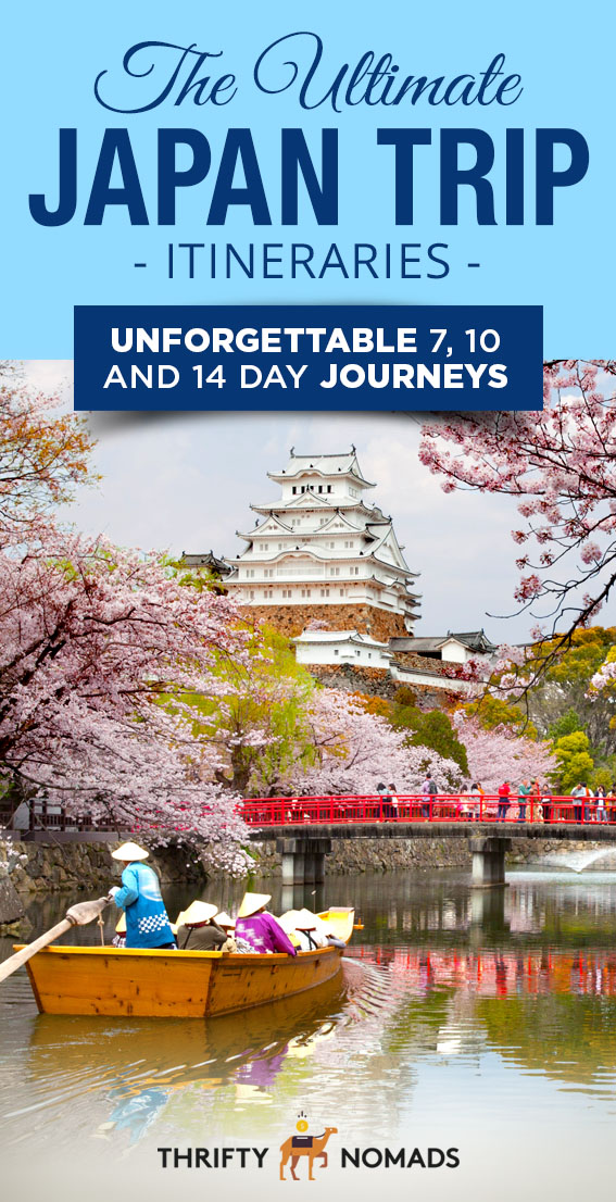 Japan is FILLED with activities and sights to see. Take the stress out of planning with these perfectly planned 7, 10 & 14 day itineraries! #japan #japantravel #japanitineraries
