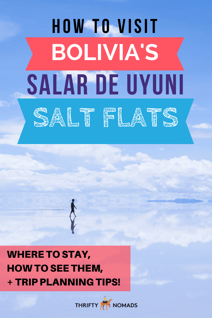 Bolivia's Salar de Uyuni is unlike anywhere else on earth. Check out how to see the world's largest salt flats here for yourself –a MUST do journey for all travellers. #bolivia #salardeuyuni #boliviasaltflats #uyunisaltflats