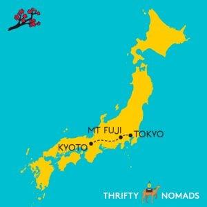 Fuji Tokyo Kyoto