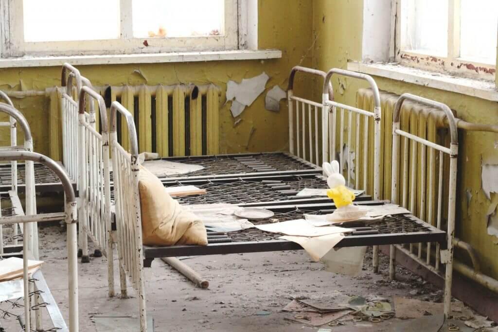 Детский сад - город Чернобыль