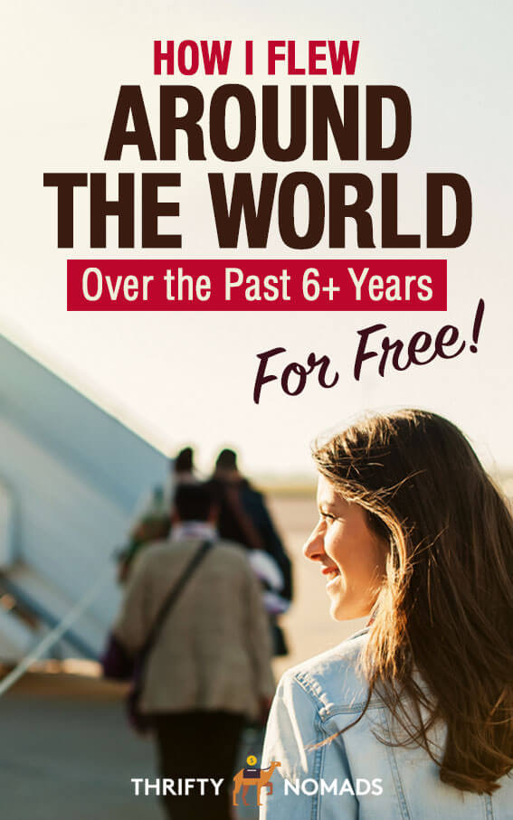 Have you ever thought travelling for free on points was a scam? I once did, until I learnt how to do it myself. Here\'s how I\'ve flown globally for the past 6 years for FREE! #travelhacking #budgettravel #cheapflights