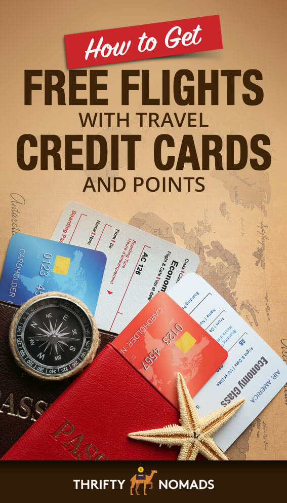Want to earn FREE flights just for signing up for credit cards & points programs? Learn how in this EASY step-by-step guide! #budgettravel #travelhacking #pointshacking