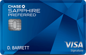 The best travel credit card Chase Sapphire Preferred