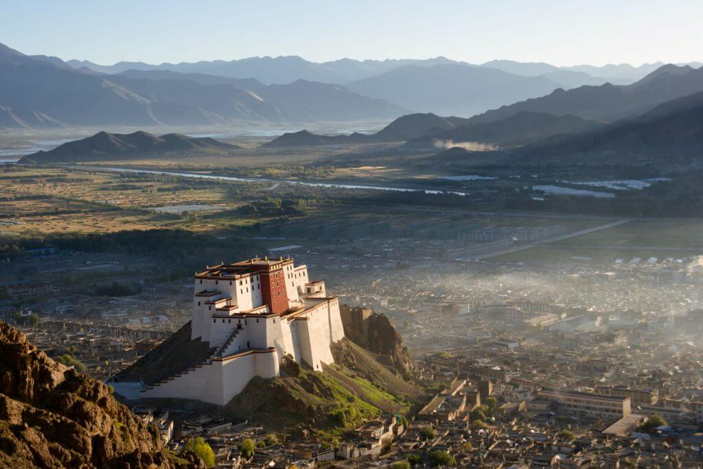 Дворец Панчен-лам, Шигадзе Тибет
