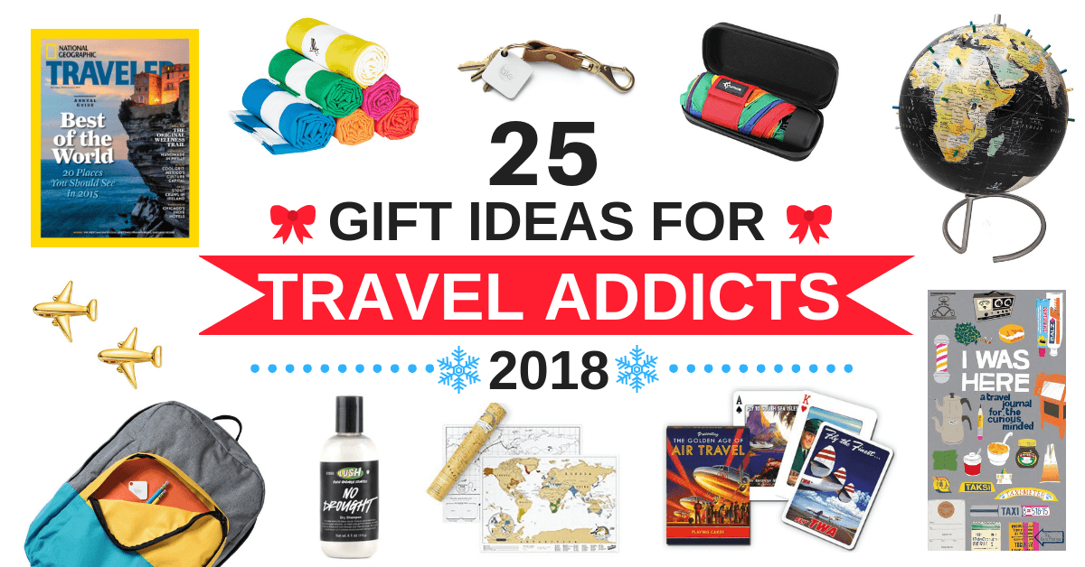 25 Unique Gifts For The Travel Addict In Your Life 2020 Thrifty Nomads