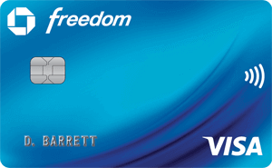 Chase Freedom Cashback Credit Card