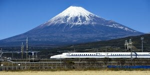 Japan Shinkansen Bullet Train