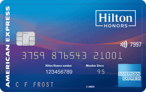 Hilton Honors Ascend American Express